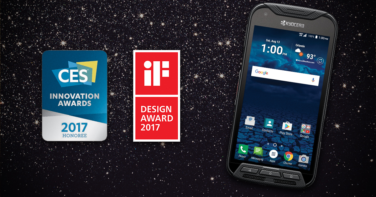 Image of iF Design award and DuraForce Pro