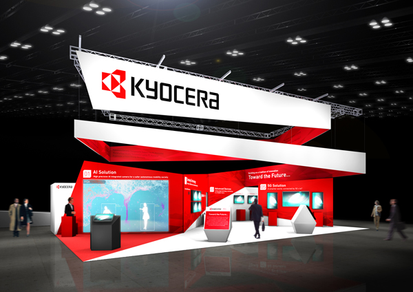 KYOCERA to Showcase AI, 5G, and Mobility Technologies at CES 2020