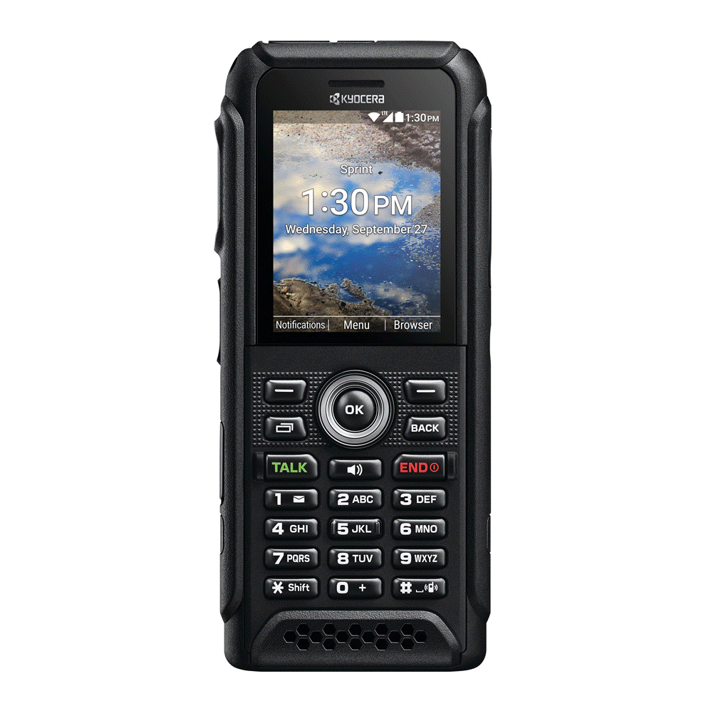 Kyocera DuraTR Launches at Sprint, Offering Military-grade Ruggedization and Support for New Sprint Direct Connect Plus PTT Service